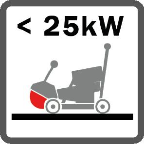 Fugenschneider schwach bis 25 kW