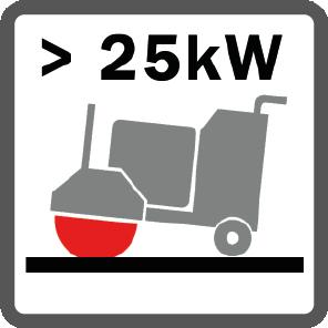 Fugenschneider stark ab 25 kW